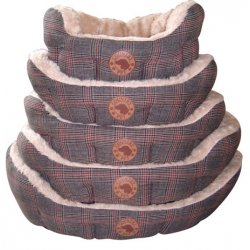 Country Pet Tweed hundekurv
